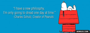 Charles Schulz Quote Cover