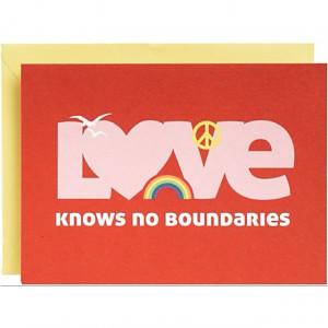 Love knows no race, no gender, no boundaries. Love is free.