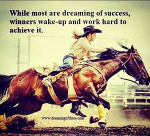 Barrels Racing Quotes, Rodeo Quotes, Hors Inspiration, Success Quotes ...