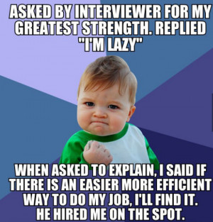 Funny Job Interview Quotes Back from a job interview