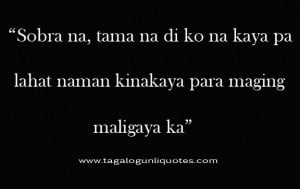 Break Up Love Quotes Tagalog