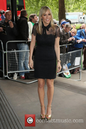 Nicole Appleton - Ivor Novello Awards 2015 held at Grosvenor House ...