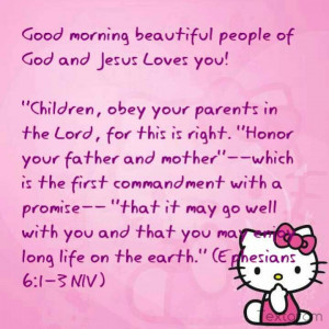 , obey your parents in the Lord, for this is right.
