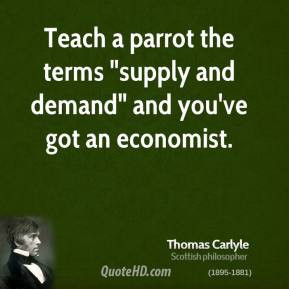 Economic Quotes About Supply And Demand ~ Economics Quotes - Meetville