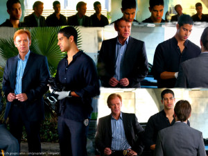 Horatio Caine and Eric Delko Wallpapers |