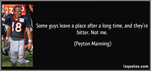 More Peyton Manning Quotes