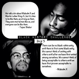 Black History Month Challenge