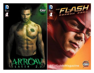 CW's Superhero Arrow and The Flash TV Series' Two-Hour Crossover ...