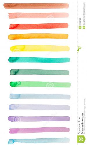 Banner Underline Rainbow...