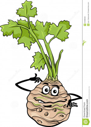 Funny Celery Vegetable