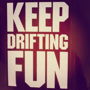 drifting #car #quote #label