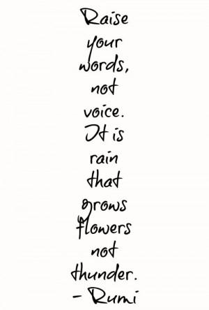 Rumi quote.