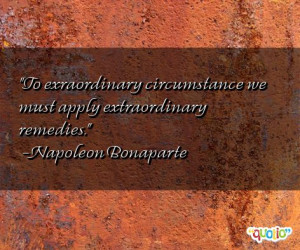 Extraordinary Quotes