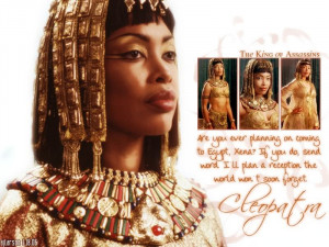 Quotes by Cleopatra