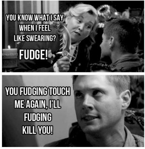died laughing when I watched this episode Supernatural!