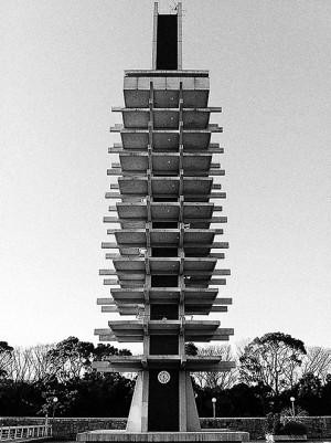kenzo tange olympic tower tokyo
