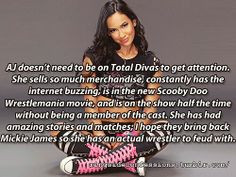 Aj Lee On The Mic 3 Wwe Photo Divas Champion April Jeanette Rare Hot ...
