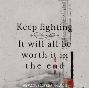 Keep Fighting!