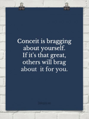 Conceit Exactly Quotes And...