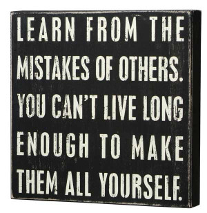 Learn-from-mistakes-box