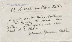 Titans: Alexander G. Bell, Anne Sullivan Macy and Helen Keller