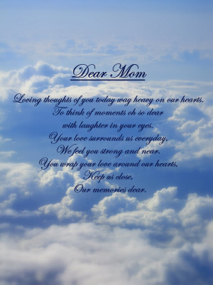 Missing Mom In Heaven Quotes Miss you mom.