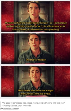 Pushing Daisies Ned Quotes