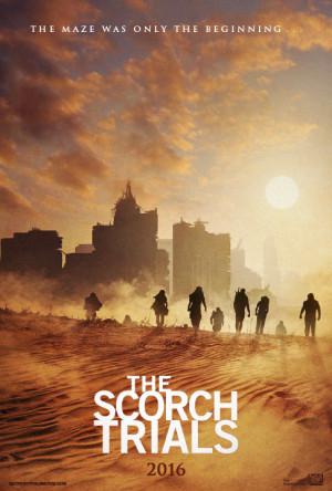 The Scorch Trials verschijnt op 17 september 2015.