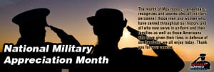 National Military Appreciation Month! Veteran Owned Business Military ...
