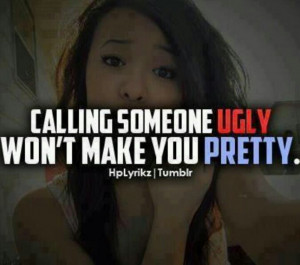 To all those stuck up popular girls