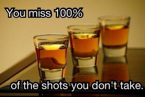 Inspirational Quotes On Pictures of People Drinking