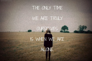Depressing Quotes About Being Alone