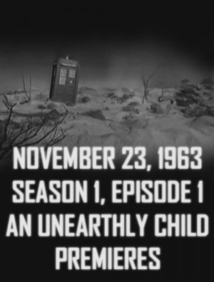 ... first doctor Who 1963 Premiere season one episode one unearthly child