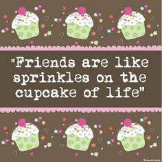Cupcake Quote. Artwork © Amanda Lincoln More