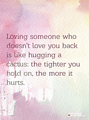 Loving Someone Who Doesnt Love You Back