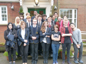DRET Scholars Malcolm Arnold Charles Read and Lodge Park