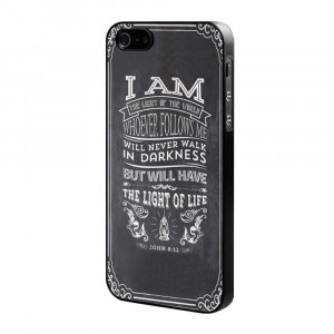 Quotes Art Grey Poster Custom Plastic Hard Case for iPhone 4s 5s 5c ...