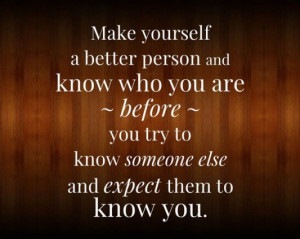 better person ...