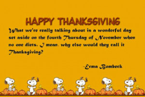 The True Meaning of Thanksgiving