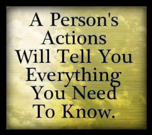 Picture Quotes about Actions - Quotes Lover
