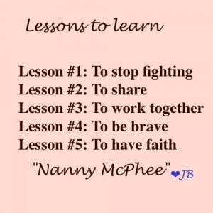 Nanny McPhee Lesson Quotes
