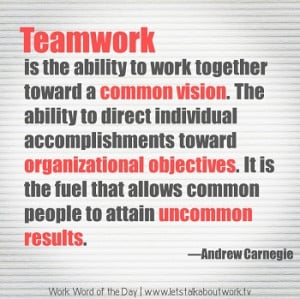 Andrew Carnegie Quotes Teamwork