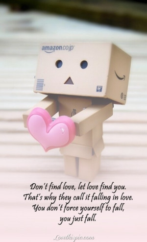 love it let love find you