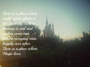 Walt Disney World Quote, Cinderella's castle