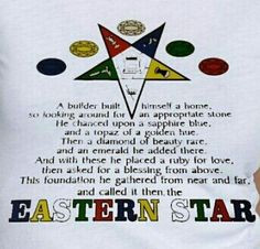 ... the eastern star 5 jewels equal the foundation more tts eastern star