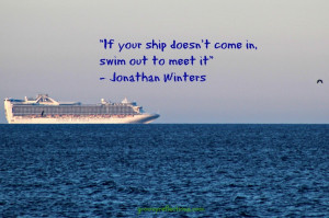 Jonathan Winters reminds us that sometimes we need to go to the ship ...