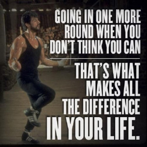 CHECK OUT MORE ROCKY BALBOA QUOTES ON THE NEXT PAGE BELOW!
