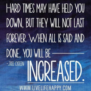 Love this Quote by Joel Osteen | Postive