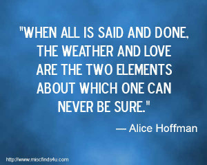 quotes about weather