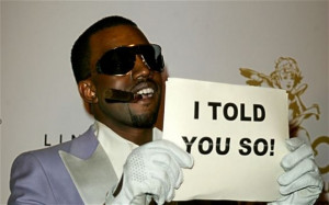 Kanye West sends a modest message to photographers after winning 3 ...